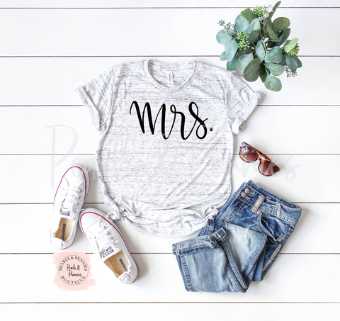 Mrs Tee | Women's Graphic Tees