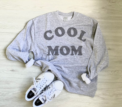 Cool Mom Sweatshirt Sweater PRE-ORDER | Women's Graphic Tees
