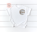 Cool Moms Club White Shirt | Women's Graphic Tees