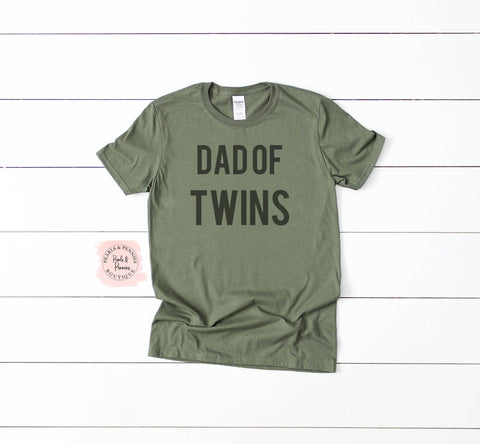 Fathers Day Shirt | Dad of Twins Shirt