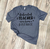 Distance Learning Teacher | Women's Graphic Tees | Graphic Tees