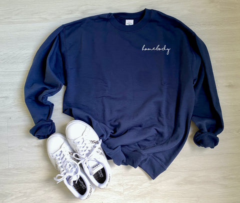 Homebody Sweatshirt Sweater PRE-ORDER | Women's Graphic Tees