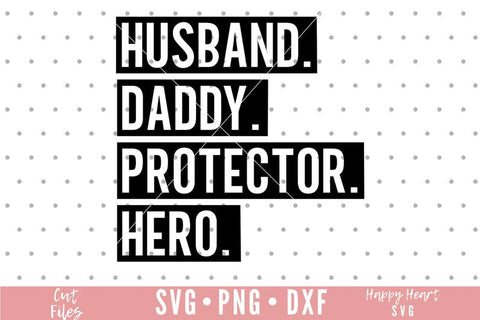 Fathers Day Shirt | Husband Daddy Protector Hero Shirt