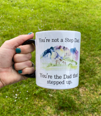 Step Dad Coffee Cup | Stepfather Gift