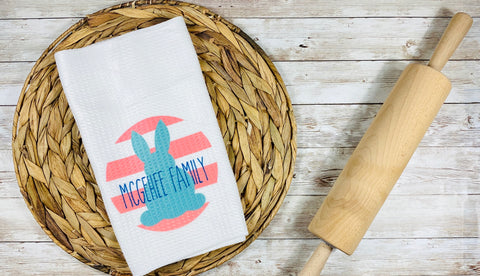 Easter Personalized Kitchen Towel