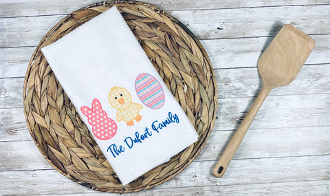Easter Personalized Kitchen Towel (2)