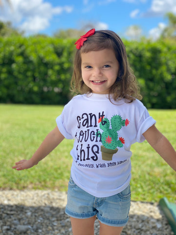 Can't Touch This Bodysuit or Shirt | Kids Graphic Tees