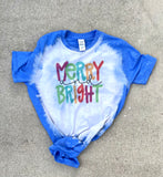 Merry & Bright Adult Tee PRE-ORDER | Women's Graphic Tees