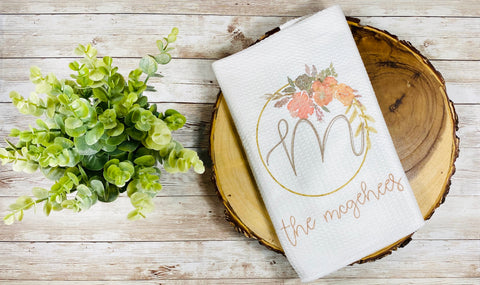 Family Name Kitchen Towel (4)