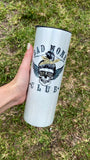 Bad Moms Club | Skinny White Shimmer Tumbler or Can Cooler