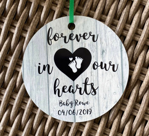 Forever in our Hearts Ornament