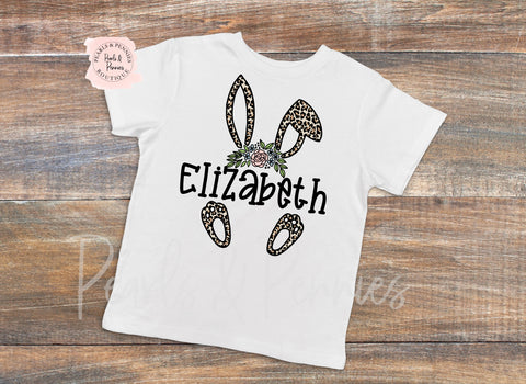 Leopard Easter Shirt or Bodysuit | Baby & Kids Graphic Tees | Mommy & Me