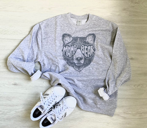 Mama Bear Sweatshirt Sweater PRE-ORDER | Women's Graphic Tees