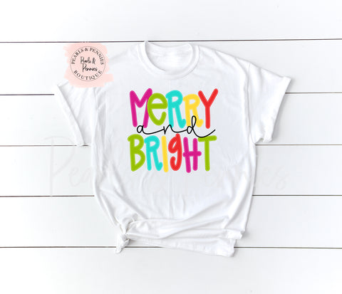 Merry & Bright | Women's Fall Graphic Tees