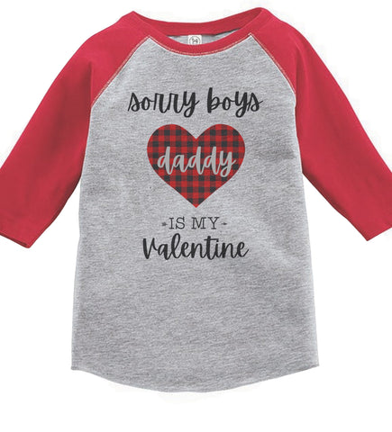 Sorry Boys Valentines Day Shirt or Bodysuit | Baby & Kids Graphic Tees