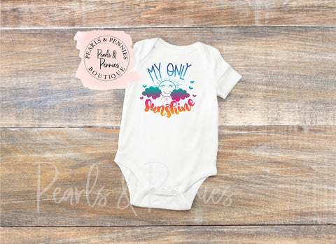 My Only Sunshine - Kids Shirt | Kids Graphic Tees | Mommy & Me