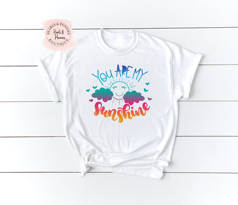 You Are My Sunshine - Mama Shirt | Women's Graphic Tees | Mommy & Me