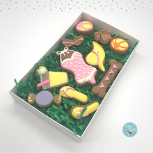 Load image into Gallery viewer, Summer Fun Deluxe Dog  Treat Box