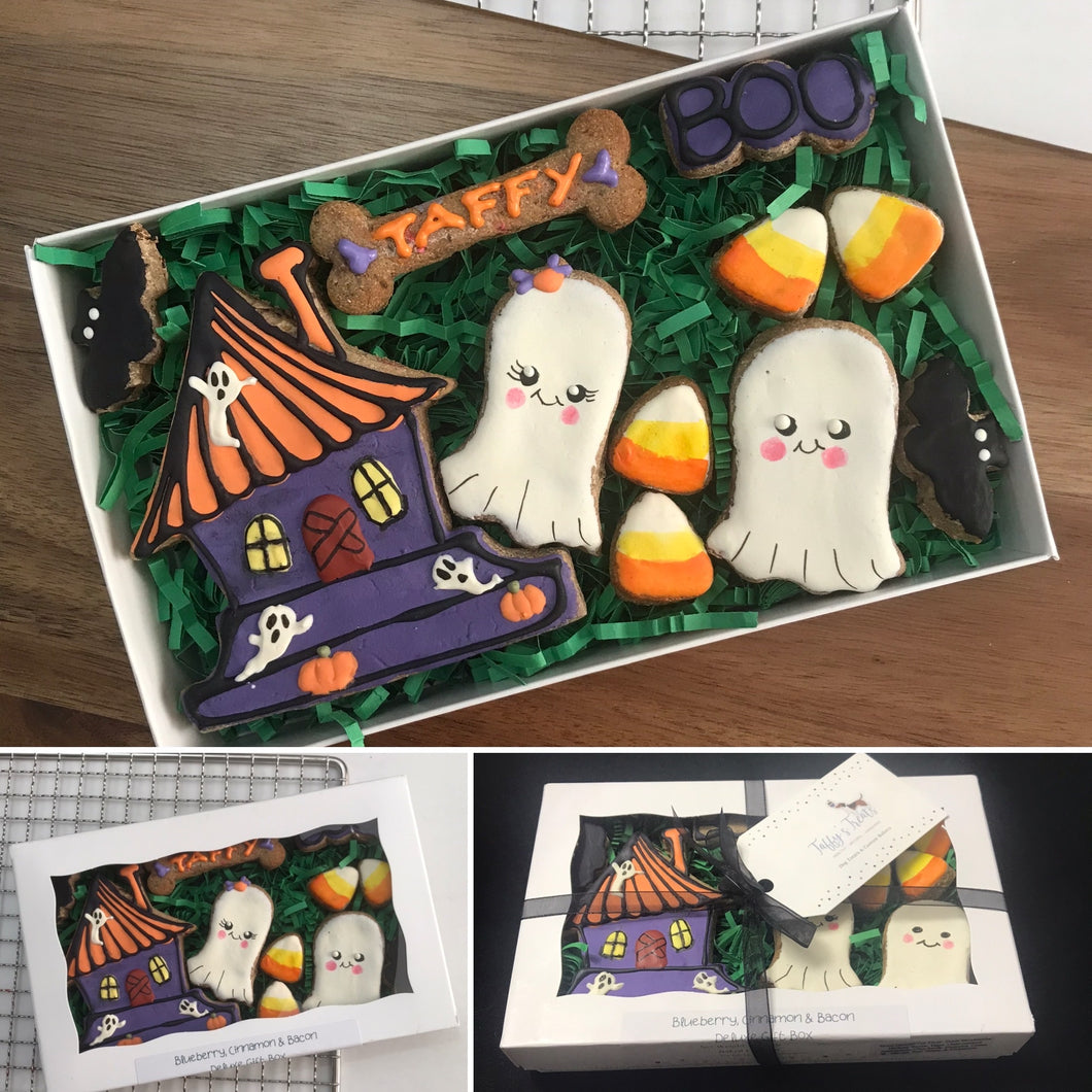 Halloween Dog Treat Box