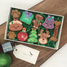 Load image into Gallery viewer, Christmas Dog Treat Box by Taffy's Treats