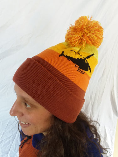 Heli Sunset Pom Hat