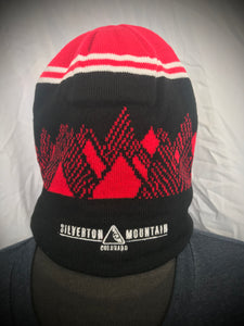 Red & Black Mountain Beanie