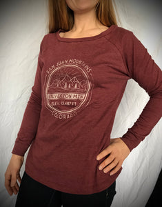Women's San Juan Mountain Long Sleeve  ** SALE**
