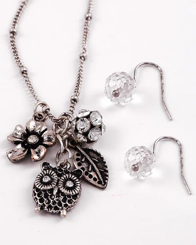 Dainty Owl Necklace