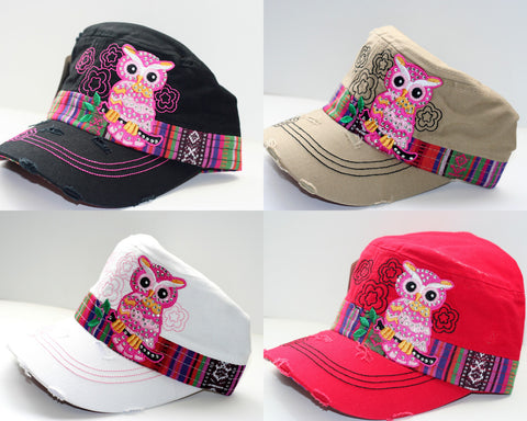 Military Owl Hat