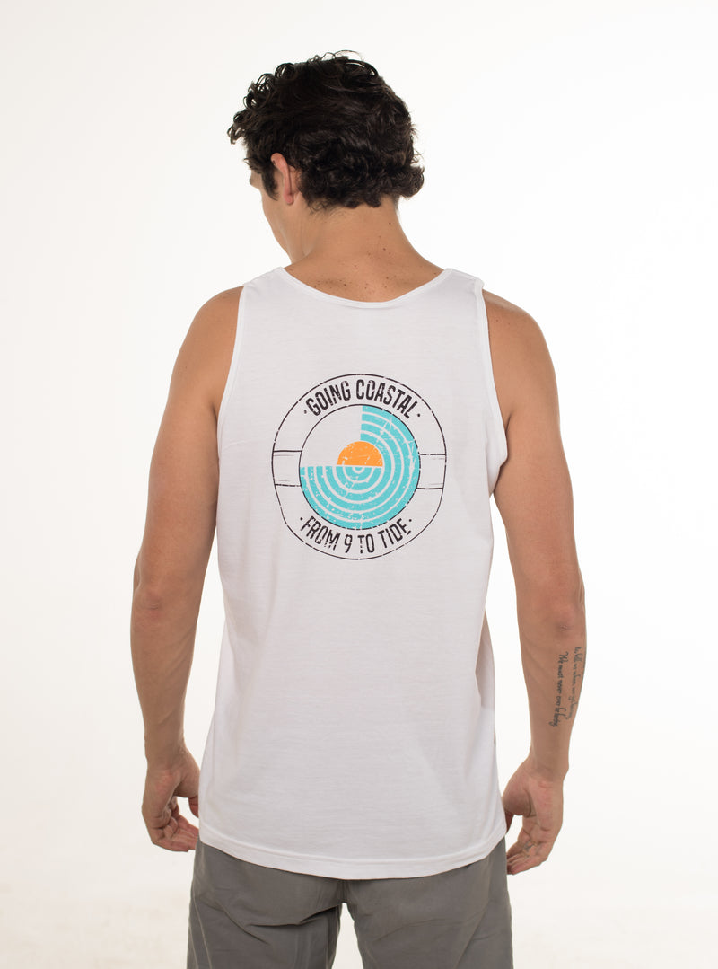 Going Coastal - Tank Top (Color: White)