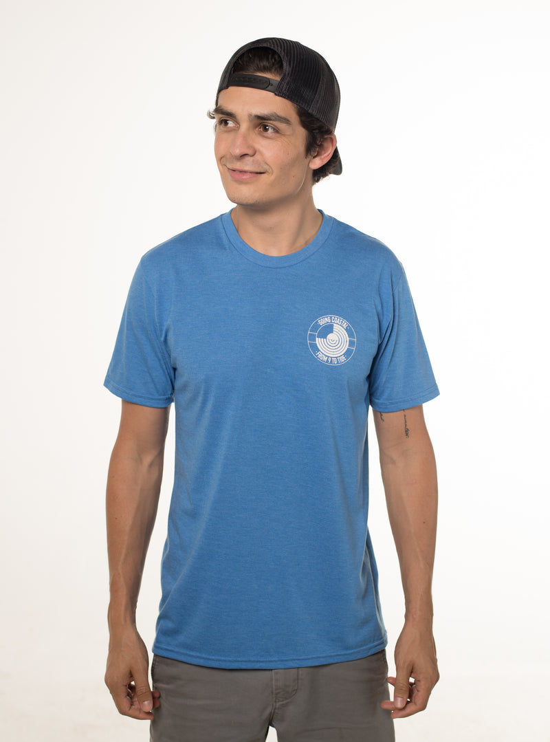 """Eco-line""  T-shirt (Color: Dark Blue)"