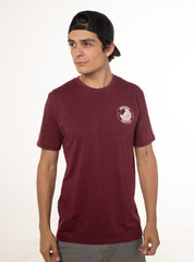 """Eco-line"" T-shirt (Color: Cardinal)"