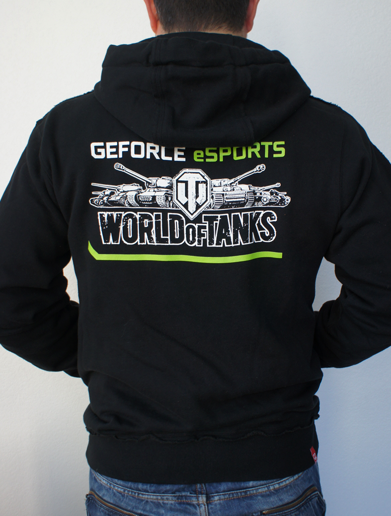 LIMITED EDITION NVIDIA World of Tanks Sweater