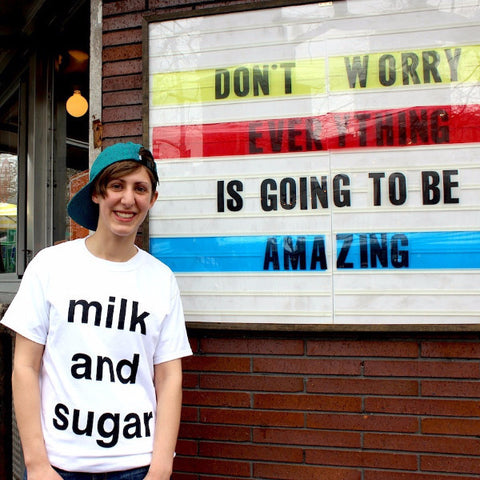 milk and sugar - Unisex MUD Shirt