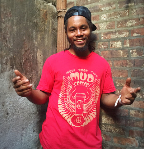 Red Classic MUD Man Tee