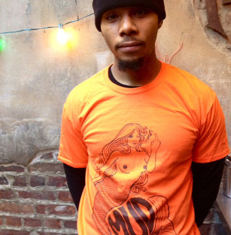 Youth Mudmaid T // Mudtruck Orange