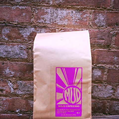 5LB. Whole Bean MUD Fatty - Mojo Espresso