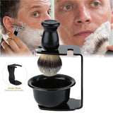 Shaving Brush Stand and Bowl Set