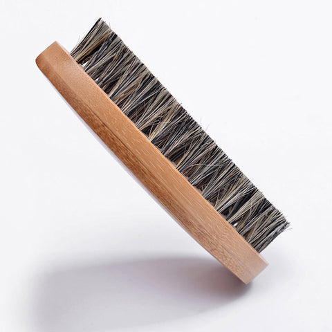 Wood Handle Beard Brush