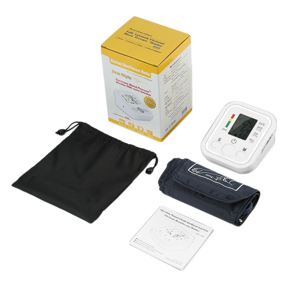 LCD Wrist Blood Pressure Monitor
