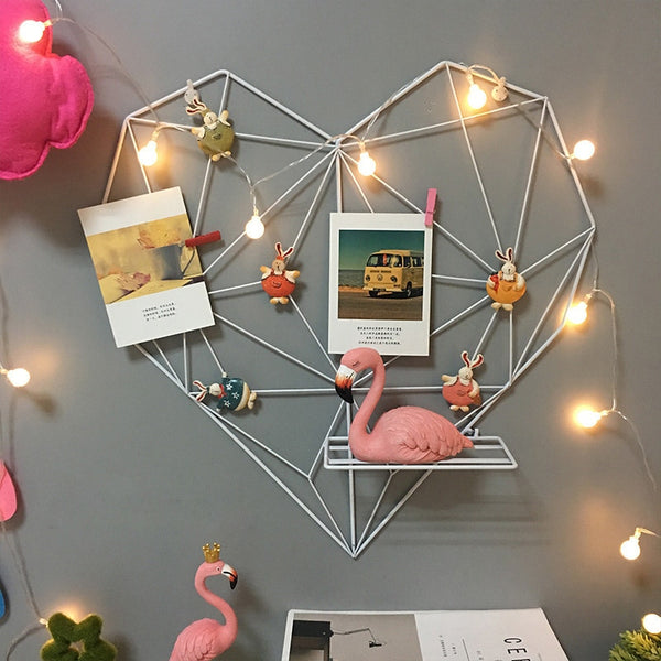Metal Heart Wall Frame