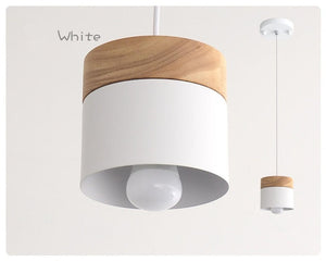 Modern Wood Pendant Light
