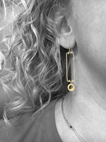 basic shapes earrings