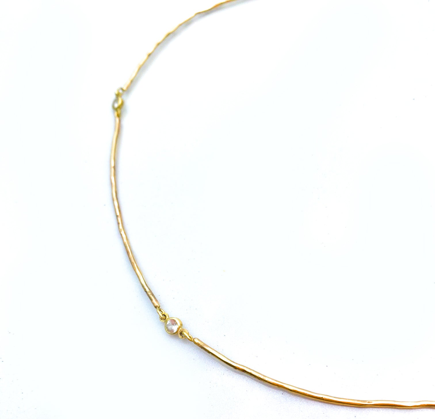 The Featherweight Twig Necklace