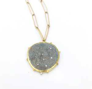 Slate constellation necklace