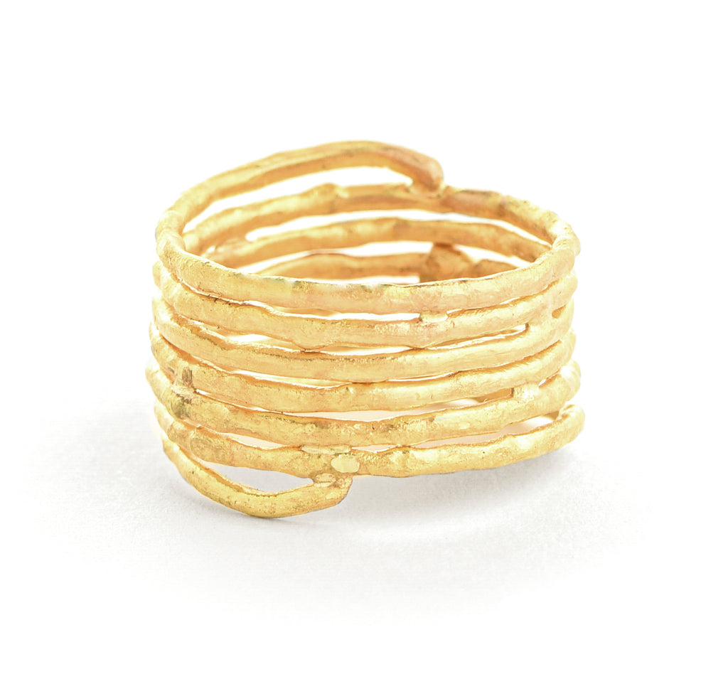 22k wrap around twig band