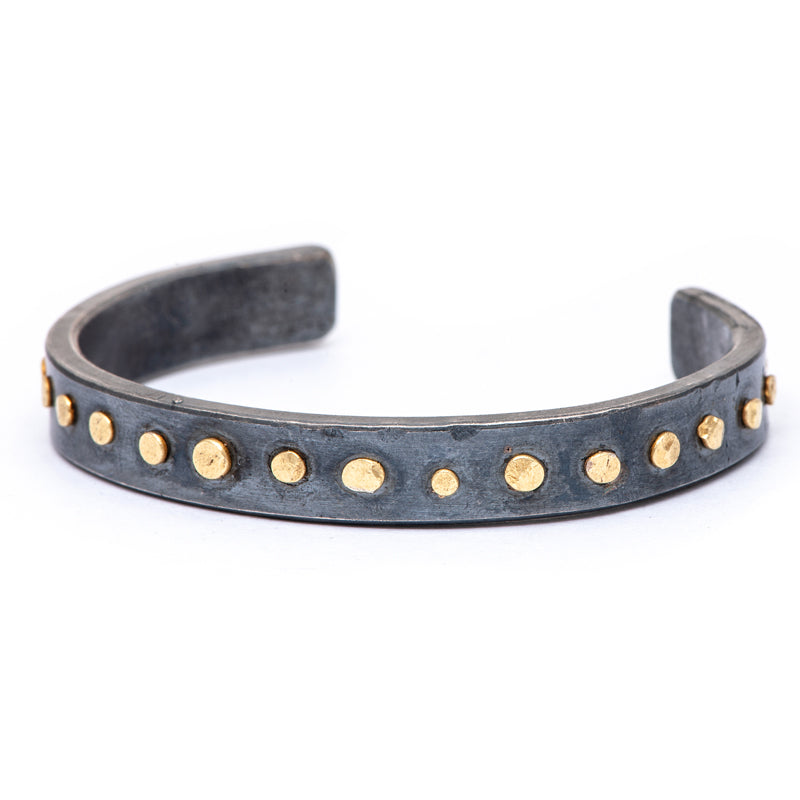 heavy oxidized disc cuff