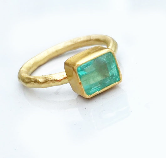 Columbian Emerald Ring