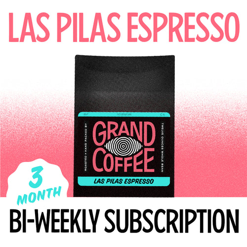 Las Pilas Espresso Biweekly Gift Subscription: Three Months