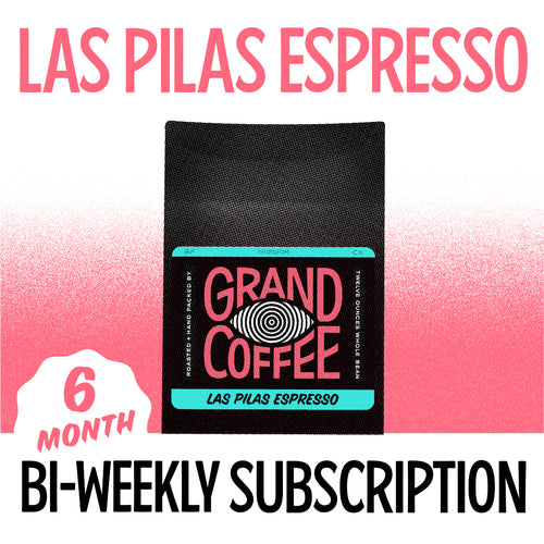 Las Pilas Espresso Biweekly Gift Subscription: Six Months